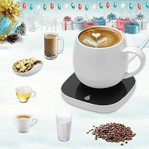 Coffee Mug Warmer for Desk with Auto Shut Off,Coffee Cup Warmer for Desk Office Home,Electric Beverage Warmer Plate for Coffee Tea Milk Cocoa