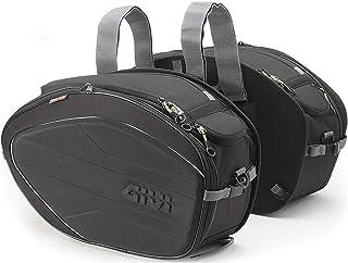 Givi EA100B Easy Bag - Alforja de 28-35 Litros, Carga Máxima 5 Kg por Bolso,  Negro, 2 Unidades