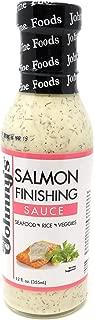 Johnny's Salmon Finishing Sauce, 12 oz