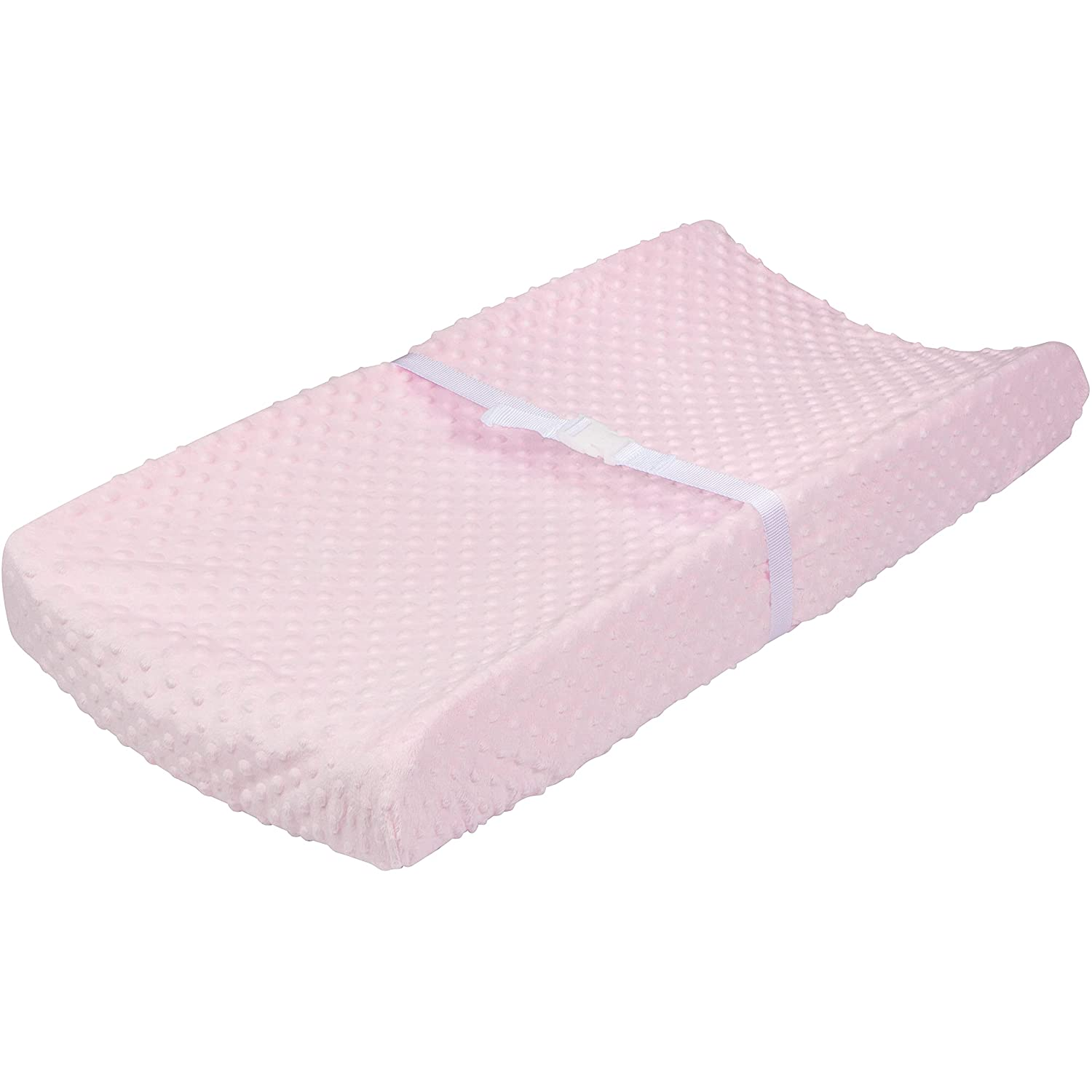Gerber Baby Boys Girls Neutral Newborn Infant Baby Toddler Nursery Changing Pad Cover, Dotted Light Pink, 16
