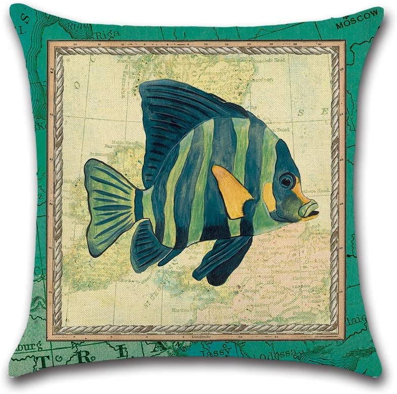 HXF- Cushion Cotton Comfortable Material Th Marine trust NEW before selling Fabric Green