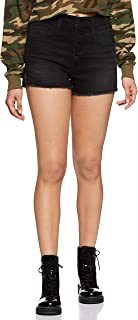 Levi's Women's Straight fit Cotton Casual Shorts
