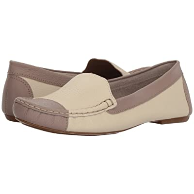 French Sole Allure (Bone/Taupe Pebble Leather) Women