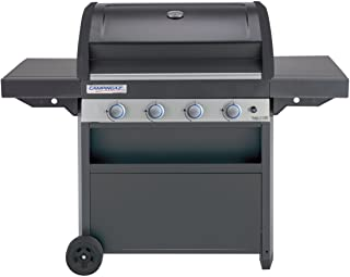 Campingaz Barbecue à Gaz Class 4 LBD, 4 Brûleurs en Inox, Puissance 12.8kW , Système de Nettoyage Facile InstaClean, Grill...