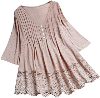 Women Button Multicolor Striped Print Short Sleeve Casual Shirt Top Blouse