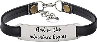 Best Friend Bracelets for Women Personalized Leather Jewelry Gifts