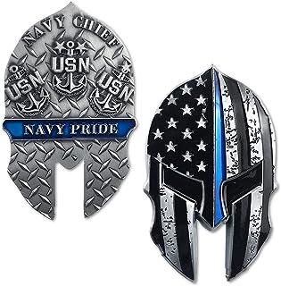 US Navy Challenge Coin Military Veteran Gift