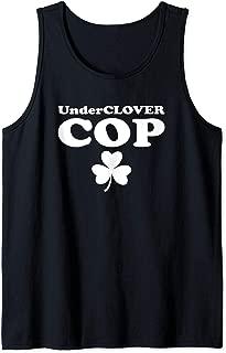 Unclover Cop Shamrock Irish Meme St. Patrick's Day Gift Tank Top