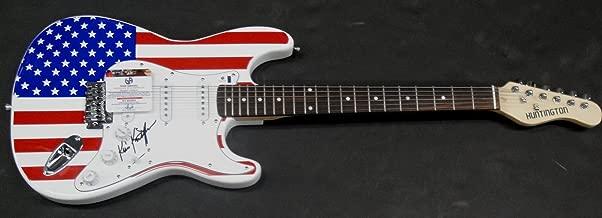 Kris Kristofferson Hand Signed Autographed Electric Guitar GA GV 852250