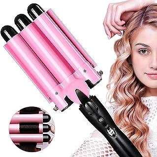 Hair Curler, 3 Barrel Hair Waver Curling Iron Wand