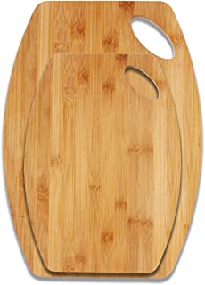 LUX Bamboo Cutting Boards for Fruit | Bread | Vegetable | Charcuterie | Bamboo Cheese Serving board | 100% Bamboo Kitchen ...