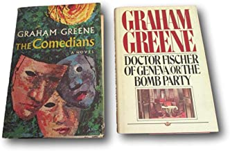 Rare 2 Graham Greene ~ The Comedians ~ Doctor Fischer of Geneva or the Bomb Party
