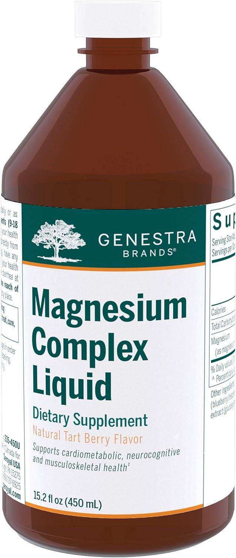 Max 48% OFF Genestra Brands - Magnesium Complex of Mail order Thre Liquid Combination
