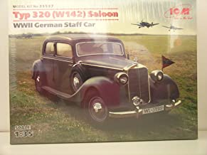 ICM Models----1/35 Scale German WW II Staff Car Typ 320 Saloon---Plastic Model Kit