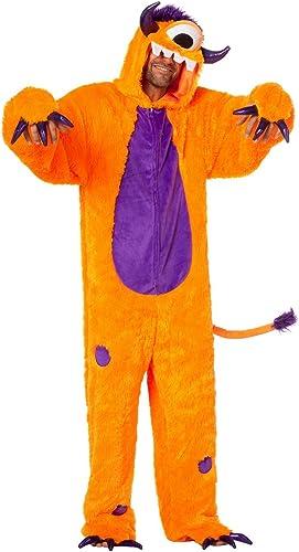 Wilbers 99558 Ungeheuer Orange Kostüm Herren Fantasy Comic Monster Herrenkostüm 50