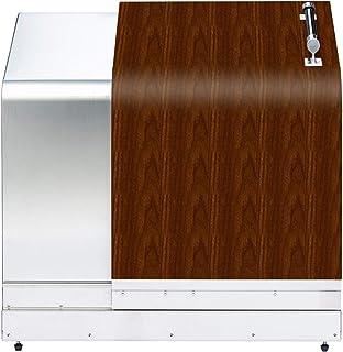 ナカノ ホームスライドダスポン ステンレス製ダストボックス HSD-774 ウォールナット
