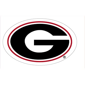 Craftique Georgia Bulldogs G Logo Car Decal-12in