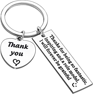 Leader Gifts Appreciation Keychains For Mentor Thank you Boss Retirement Keyring Gifts