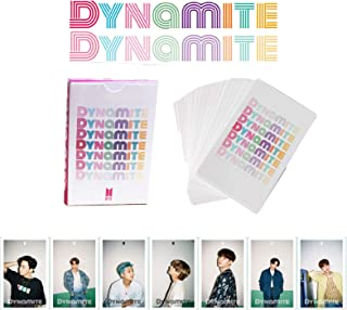 BTS LOMO Cards BANTAN Boys Merchandise of Postcards MAP OF THE SOUL PERSONA Gifts for Army Daughter(Dynamite)