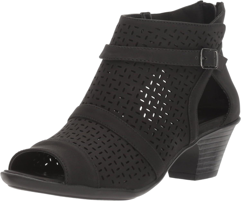 Easy Street Damen Sandalen mit Absatz, schwarz, 37.5 EU