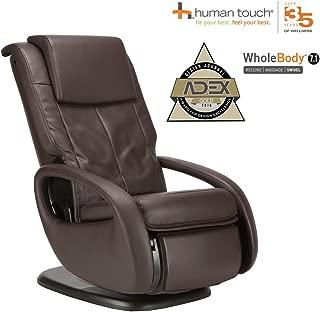 Human Touch WholeBody 7.1 Massage Chair - 3D FlexGlide, CirQlation Technology - 5 Programs, Espresso