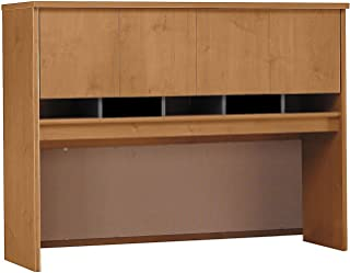 Bush Business Furniture Series C Collection 60W Hutch in Natural Cherry