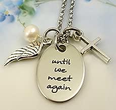 Until We Meet Again Remembrance Necklace
