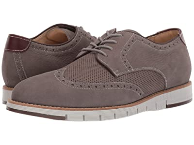 J&M EST. 1850 Martell Perf Wing Tip (Gray) Men