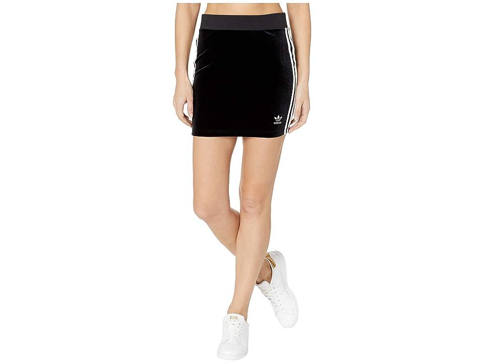 adidas Originals 3-Stripes Skirt (Black 1) Women