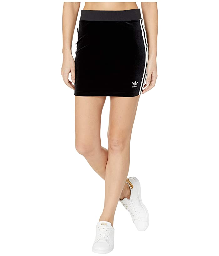 adidas Originals 3-Stripes Skirt (Black 1) Women