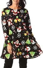 Best santa christmas swing dress Reviews