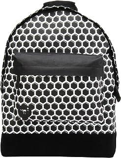Custom Prints Backpack Mochila Tipo Casual, 41 cm, 17 litros, HoneyC Blk/Wht