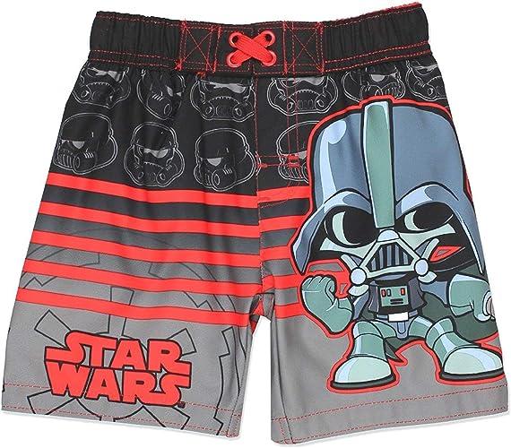 Disney Star Wars garçons Swim Tcourirks maillot de bain (2T, noir)