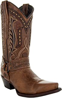 Soto Boots Women's Harness Cowboy Boots M50039