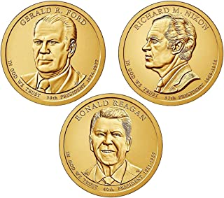 2016 P, D Presidential Dollar 6-Coin Set Uncirculated