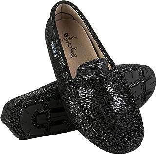 Zerimar Mocassins en Cuir Femme | Loafers Mocassins Elegant Femme | Loafers Femme | Mocassins Confort Femme | Espadrille C...