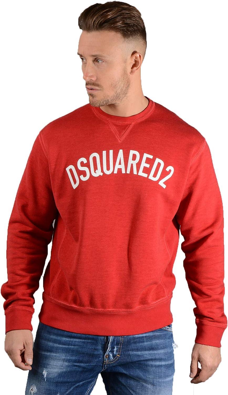 DSQUARED2 Mens S74GU0259 Sweatshirt in Red