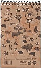 Recycled Save The Rhino Shorthand Book, 8x5, 80 Leaf, 8mm Ruled