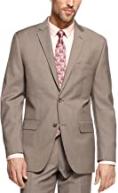 Alfani Red Slim Fit Blazer Khaki Solid New Men's Suit Sep.