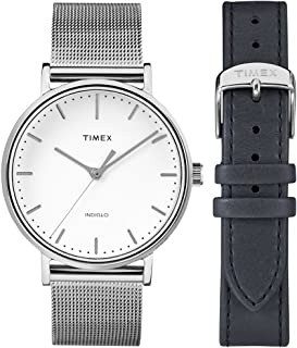Timex Dress Watch for Men, Metal, Analog, TWG016700
