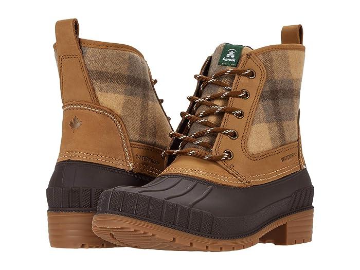Kamik Sienna Mid (Tan) Women's Boots