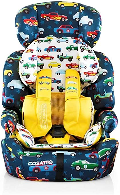 Cosatto Zoomi Car Seat - Group 1 2 3, 9-36 kg, 9 Months-12 years, Side Impact Protection, Forward Facing (Rev Up): image