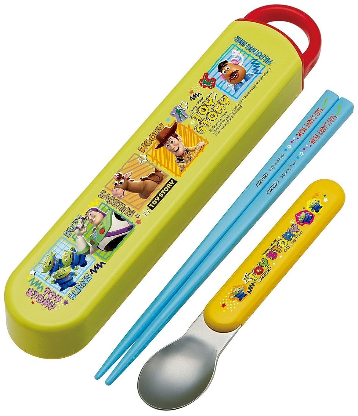 綺麗な雑種ペアスケーター 子供用 箸 スプーン セット トイ?ストーリー ディズニー 日本製 CAC2AM
