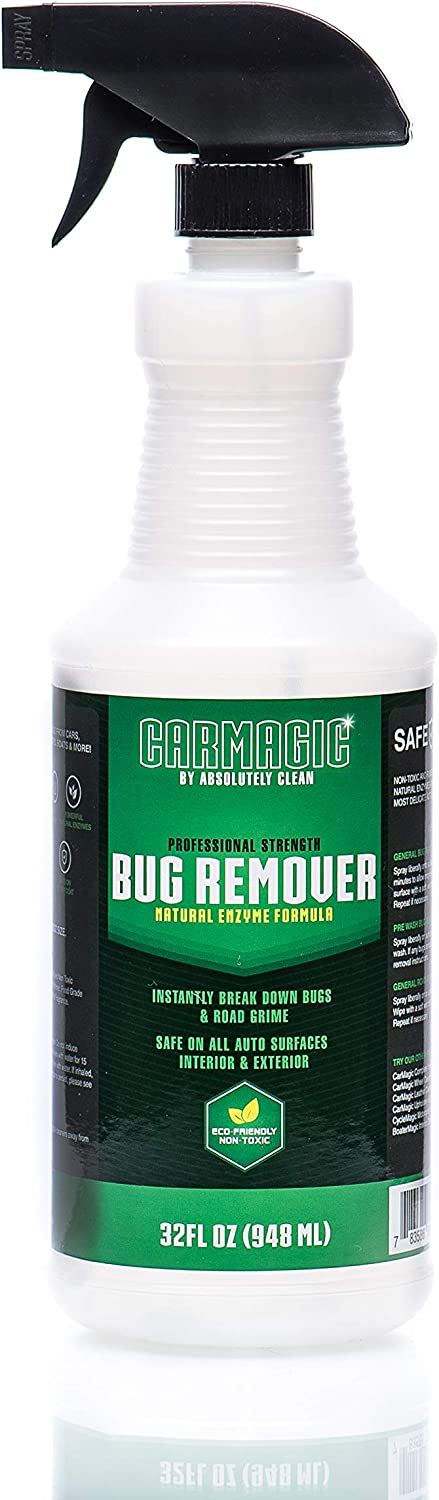 Absolutely Clean CarMagicBug Remover Mail order cheap 4 years warranty Cleaner - Duty Heavy