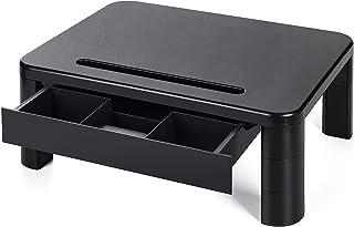 LORYERGO Support de Moniteur avec 3 hauteurs réglables Rehausseur Ecran Poids max 20KG pour moniteur de PC ordinateur port...