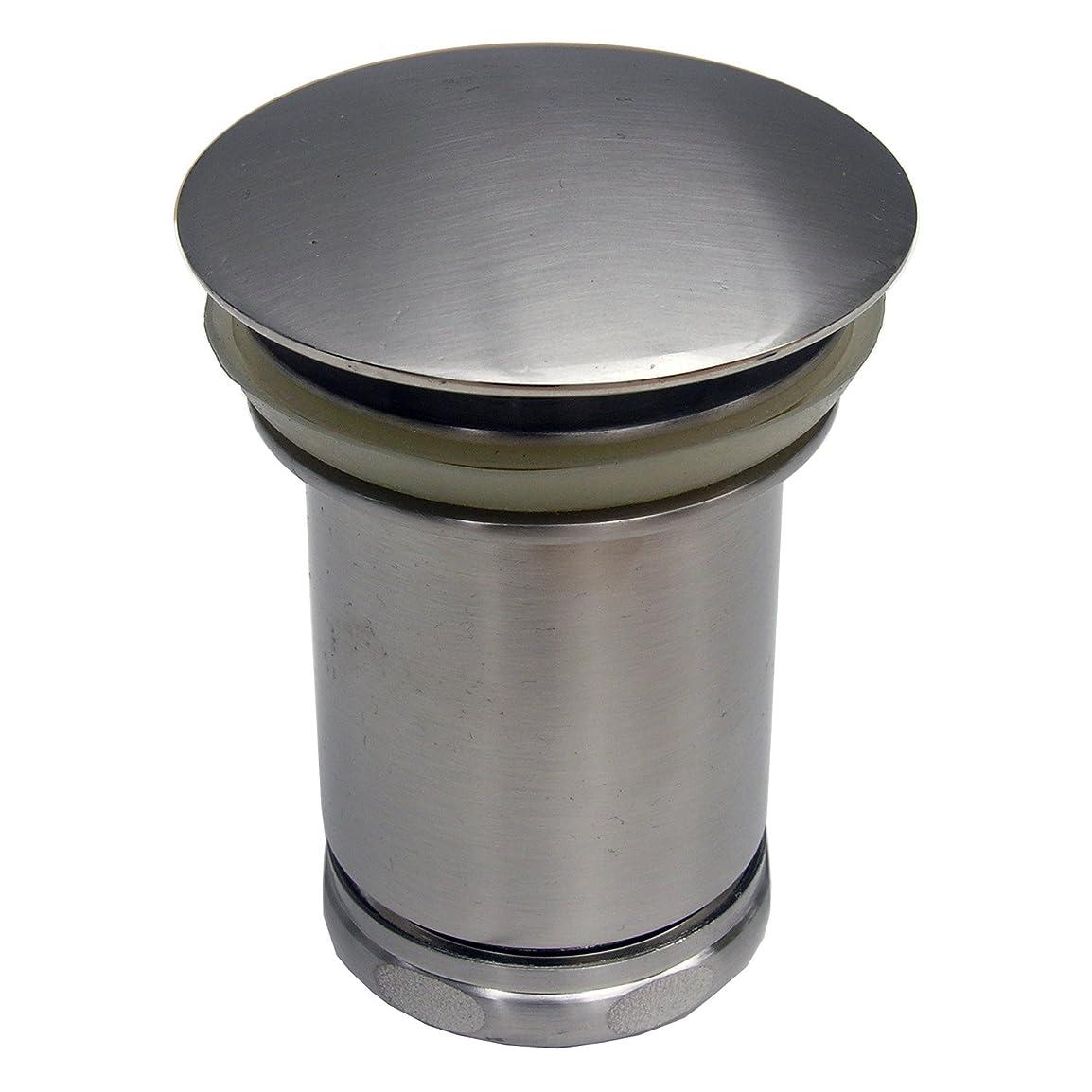 記録加速度請う(Satin Nickel) - LASCO-Simpatico 20109SN Tip Toe Vessel Pop Up, Satin Nickel
