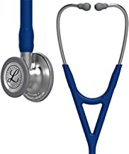 3M Littmann Cardiology IV Diagnostic Stethoscope, Standard-Finish Chestpiece, Navy Blue Tube, Stainless Stem and Headset, 27 inch, 6154