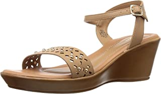 BATA Women's Laser Stud Sandal Fashion