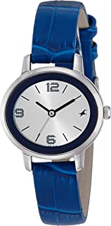 Fastrack Analog Silver Dial Women's Watch-NK6107SL01