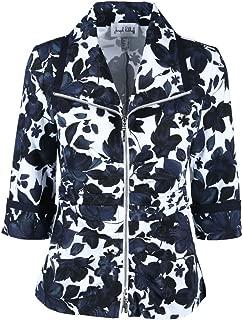 Floral Zip Jacket